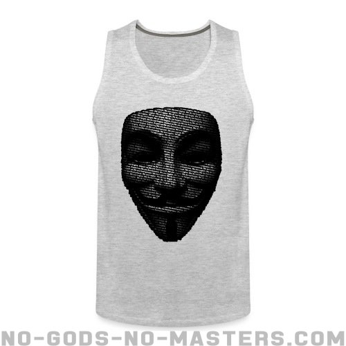 Anonymous Tank top - Anonymous Tank top