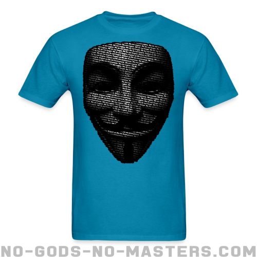 Anonymous T-shirt - Anonymous T-shirt