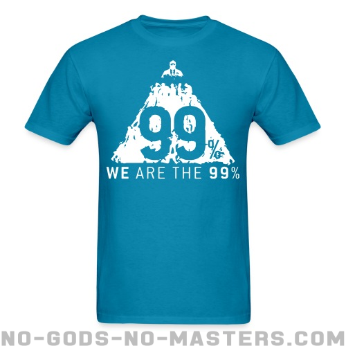 We are the 99% - Anonymous T-shirt