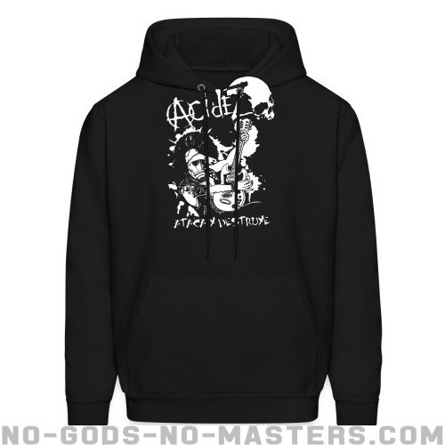 Acidez - ataca y destruye - Band Merch Hooded sweatshirt