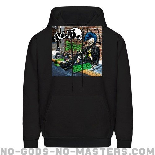 Acidez - Don't ask for permission - Band Merch Hooded sweatshirt