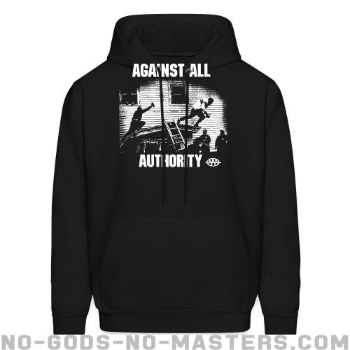 Hooded sweatshirt Against All Authority -