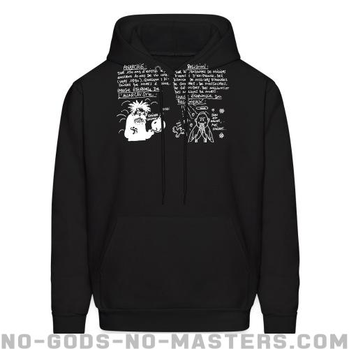 Anarchie vs Religion: Image éternelle - Atheist Hooded sweatshirt