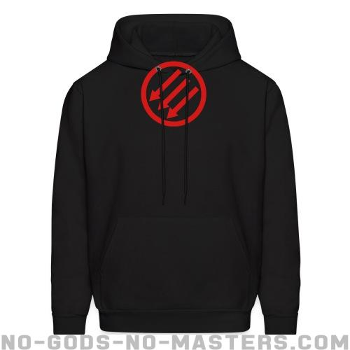 Anti-fascist Hooded sweatshirt - Anti-fascist Hooded sweatshirt