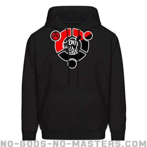 CNT - Spanish revolution Hooded sweatshirt