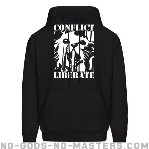 Conflict - liberate - Band Merch Hooded sweatshirt