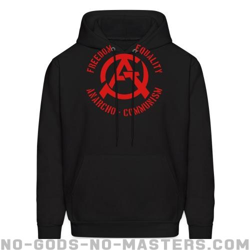 Freedom equality anarcho-communism - Activist Hooded sweatshirt