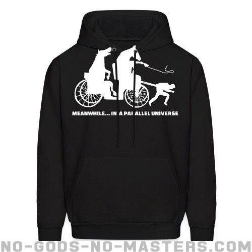 Meanwhile... in a parallel universe - Animal Liberation Hooded sweatshirt