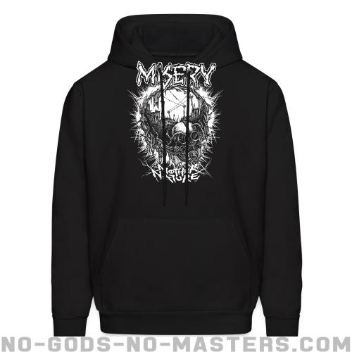 Misery - Mother nature - Band Merch Hooded sweatshirt