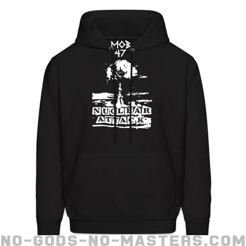 Mob 47 - nuclear attack - Band Merch Hooded sweatshirt
