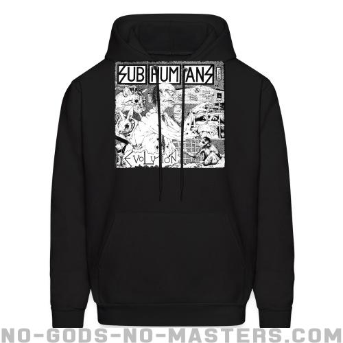 Subhumans - evolution - Band Merch Hooded sweatshirt