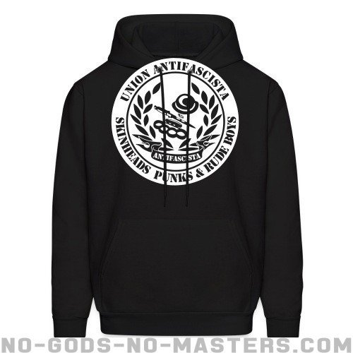 Union antifascista skineads punks & rude boys - Anti-fascist Hooded sweatshirt