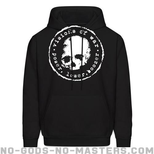 Visions Of War - Poser, loser, boozer - Band Merch Hooded sweatshirt