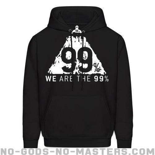 Hooded sweatshirt We are the 99% - Anonymous