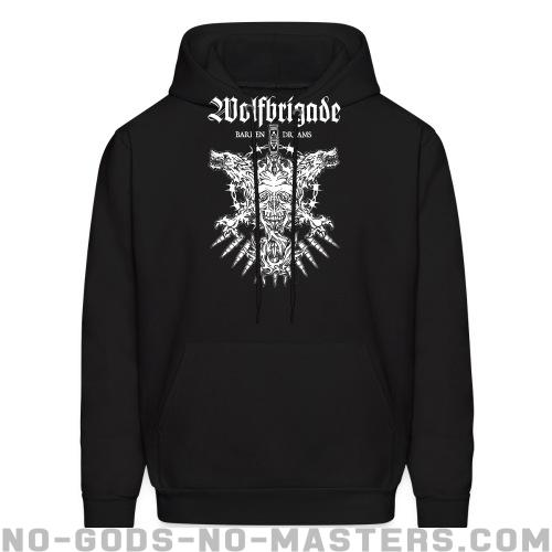 Wolfbrigade barren dreams - Band Merch Hooded sweatshirt