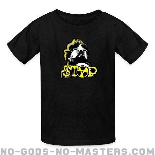 Stop nuclear - Eco-friendly Kids t-shirt