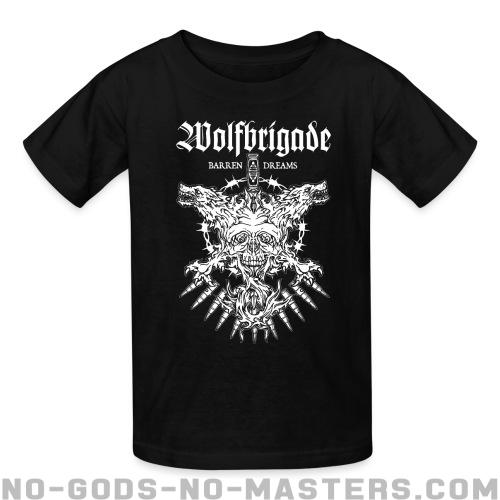 Wolfbrigade barren dreams - Band Merch Kids t-shirt