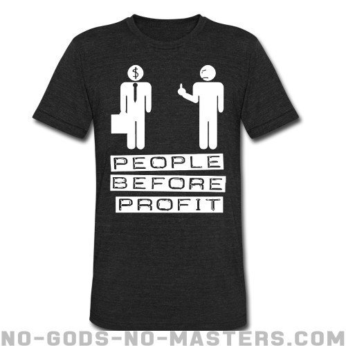 People before profit - Activist Local T-shirt