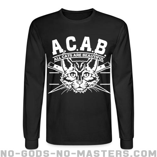 A.C.A.B. All Cats Are Beautiful  - Animal Liberation Long sleeves