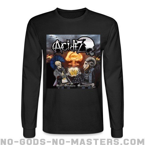 Acidez - Beer drinkers survivors - Band Merch Long sleeves