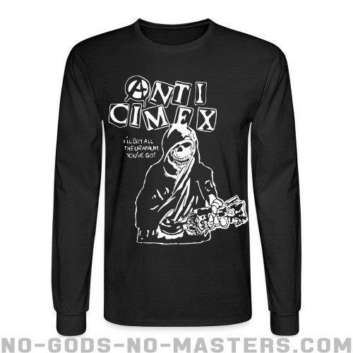 Anti Cimex - i'll buy all the the uranium you've got - Band Merch Long sleeves