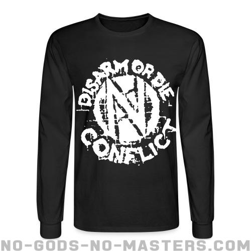 Conflict - Disarm or die - Band Merch Long sleeves