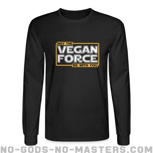 May the vegan force be with you - Animal Liberation Long sleeves