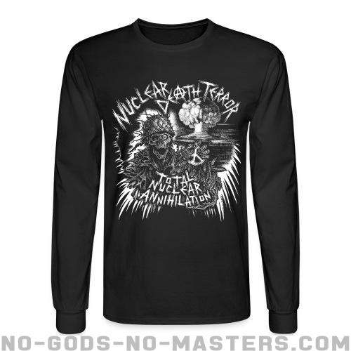 Nuclear Death Terror - total nuclear annihilation - Band Merch Long sleeves