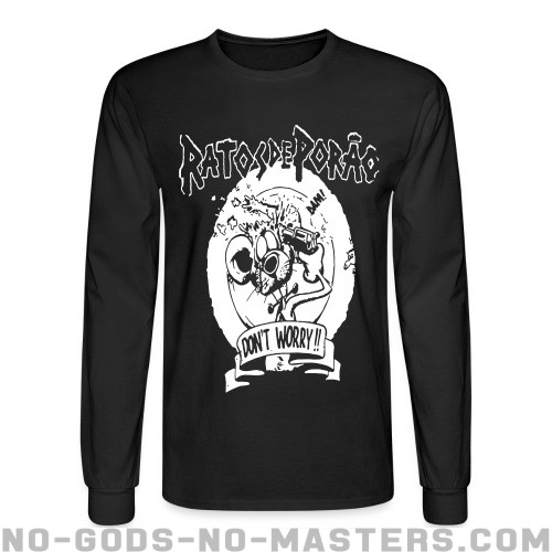 Rastos De Porao - don't worry!! - Band Merch Long sleeves