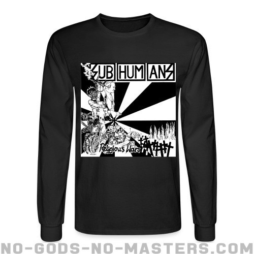 Subhumans - Religious wars - Band Merch Long sleeves