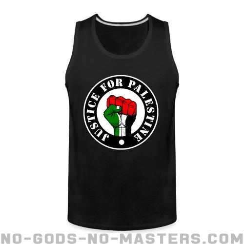 Justice for palestine - Anti-war Tank top
