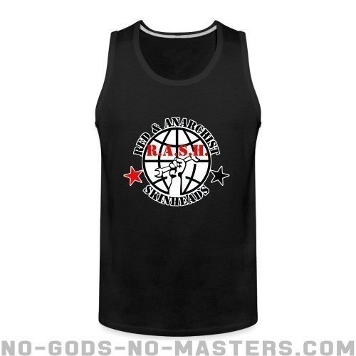 R.A.S.H. Red & Anarchist Skinheads - Skinhead Tank top