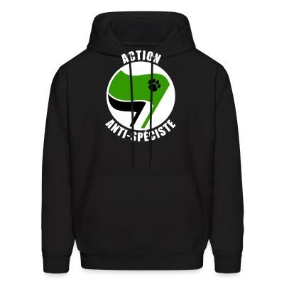 Hoodie Action Anti-Spéciste