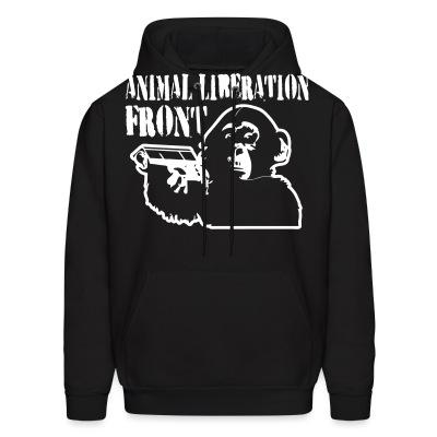 Hoodie Animal liberation front