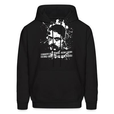 Hoodie Better to die on your feet than live on your knees (Emiliano Zapata)