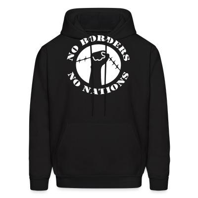 Hoodie No borders no nations