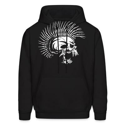 Hoodie Punk Skull similar to The Exploited