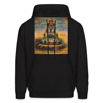 Hoodie Pyramid of capitalist system