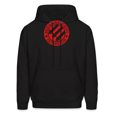 Hoodie Red & anarchist skinheads