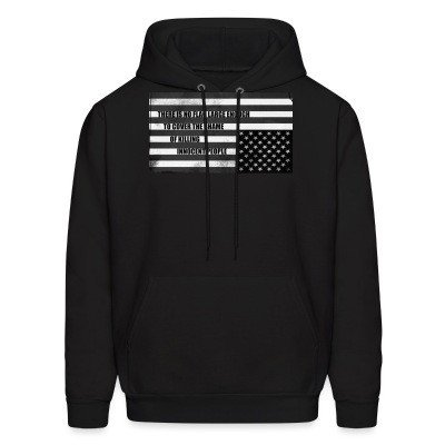 Hoodie There is no flag large enough to cover the shame of killing innocent people