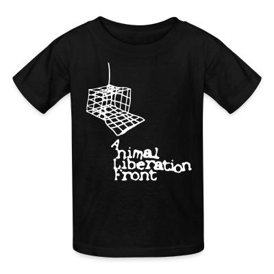 Kid tshirt Animal Liberation Front (ALF)