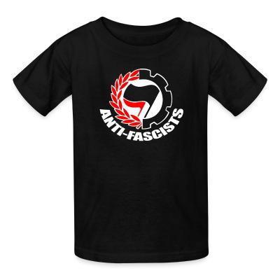 Kid tshirt Anti-fascists