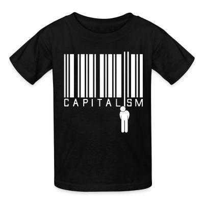 Kid tshirt Capitalism