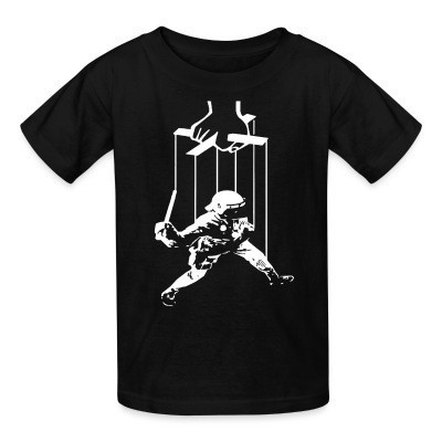 Kid tshirt Cops are manipulated