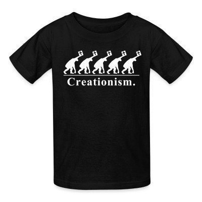 Kid tshirt Creationism.