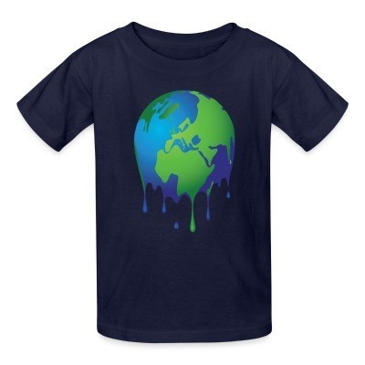 Kid tshirt Global Warming