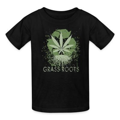 Kid tshirt Grass roots