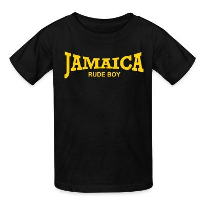 Kid tshirt Jamaica rude boy