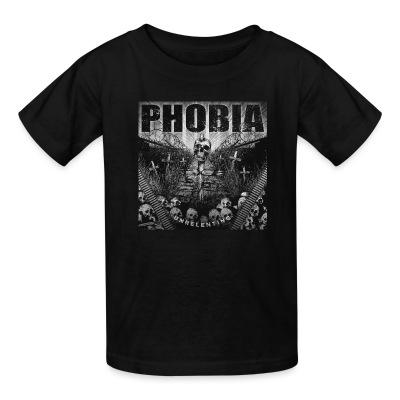 Kid tshirt Phobia - Unrelenting