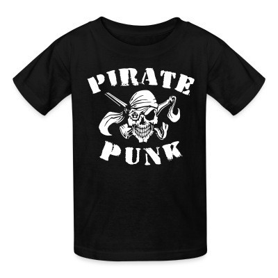 Kid tshirt Pirate punk